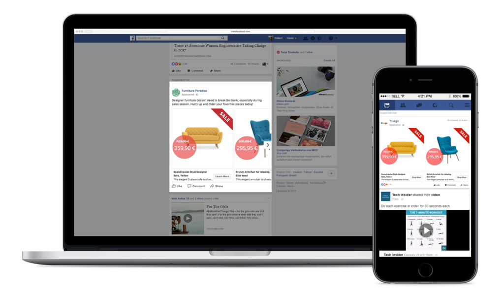 Facebook Dynamic Ads Specialismes