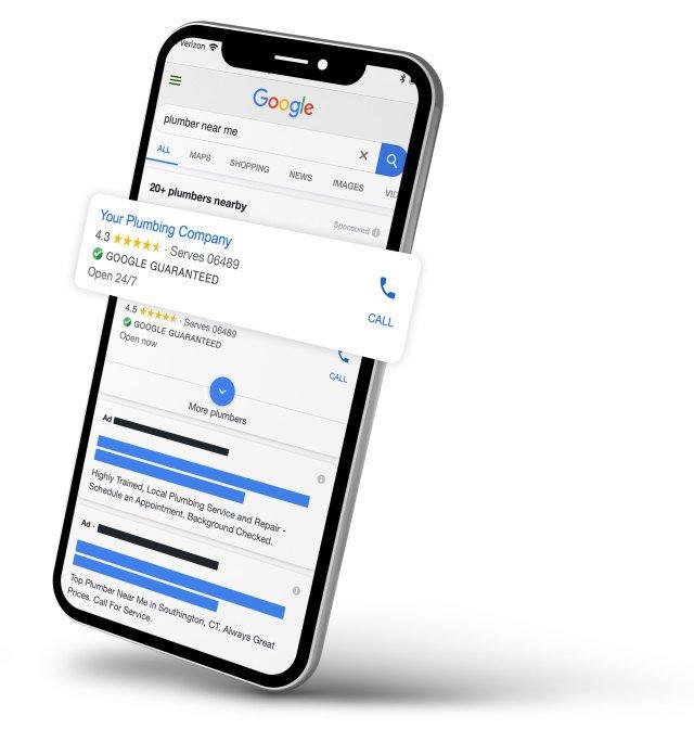Google Ads Mockup