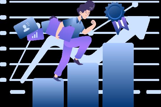 illustrations climbthechart Young Metrics